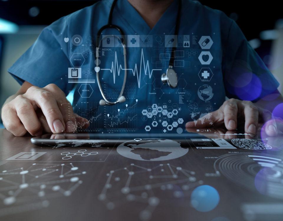 Gesundheitsdaten, EDV, IT, Netzwerk, Server, Hardware