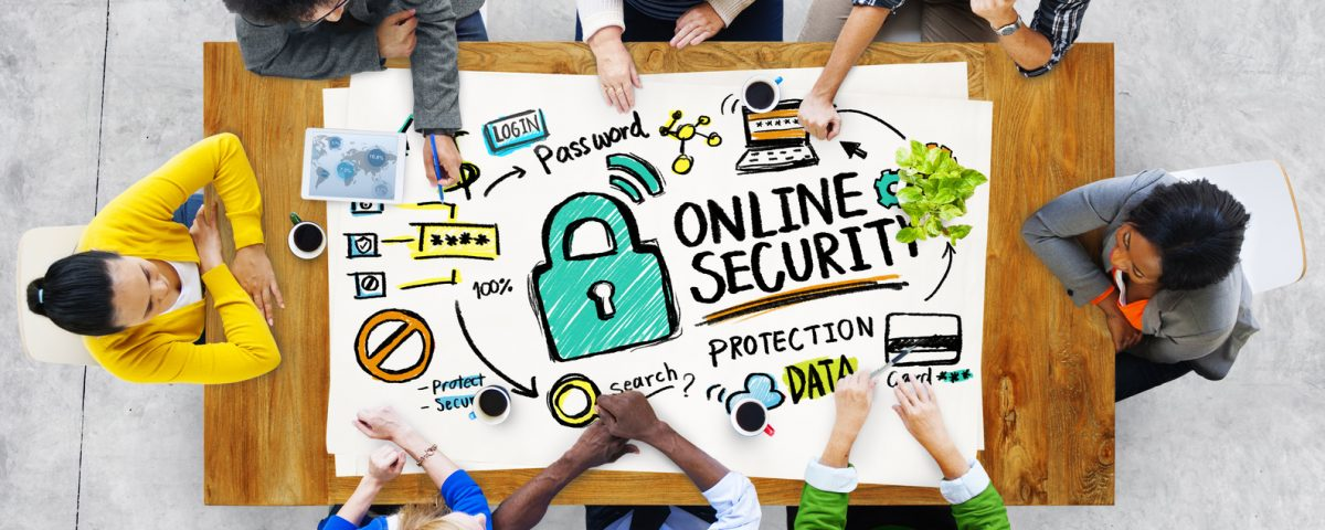 WordPress absichern Checkliste Online Security Protection Internet Safety People Meeting